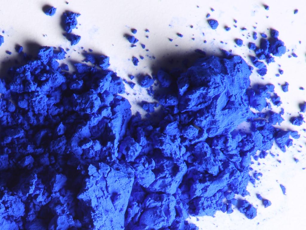 "Geradezu ""unirdisch"" blau: Ultramarinblau"